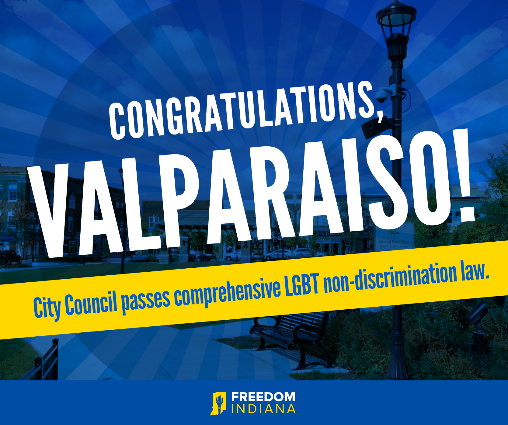 Valparaiso City Council Overwhelmingly Passes LGBT Protections