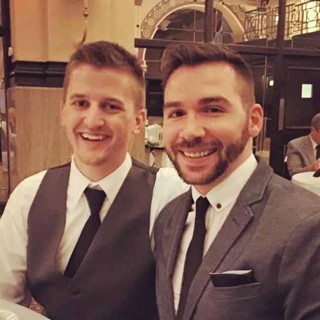 Matt and Andy