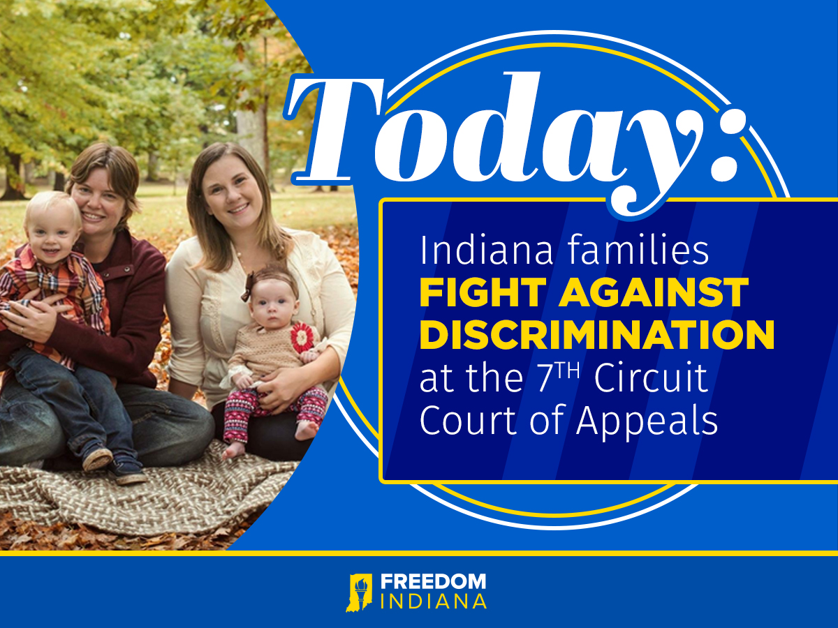 7th Circuit Court Set to Hear Oral Arguments Starting Today In Case That Could Secure Same-Sex Couples' Parental Rights
